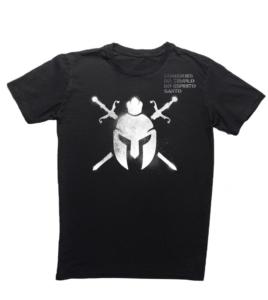 Camiseta Regular Preta